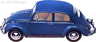 Blue Beetle Sedan